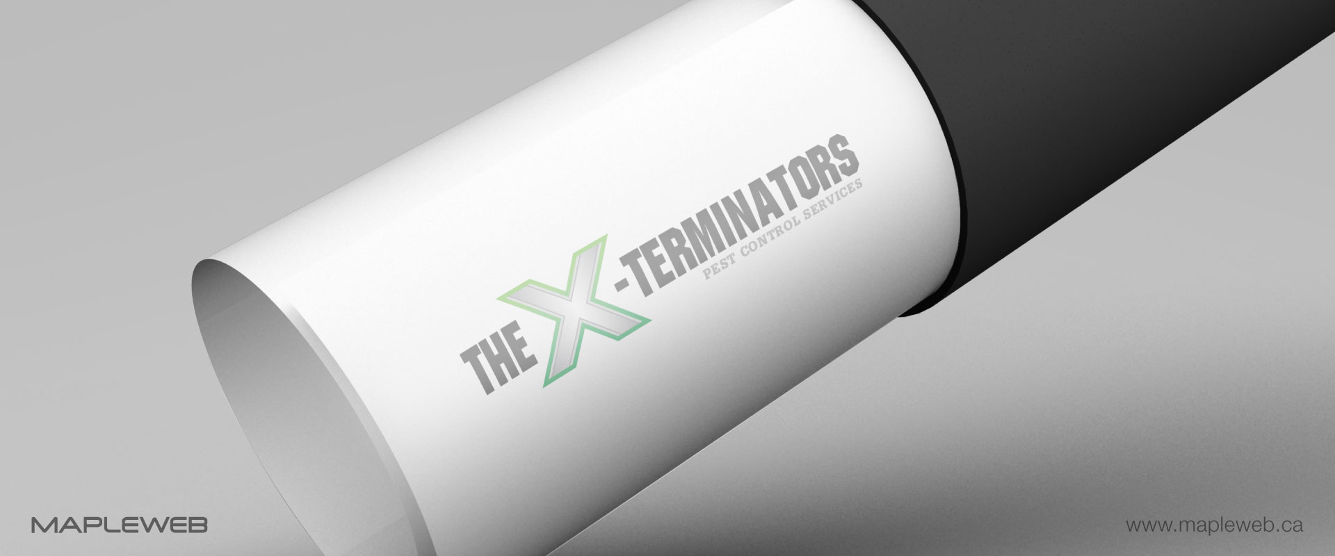 the-x-terminators-brand-logo-design-by-mapleweb-vancouver-canada-folded-paper-mock