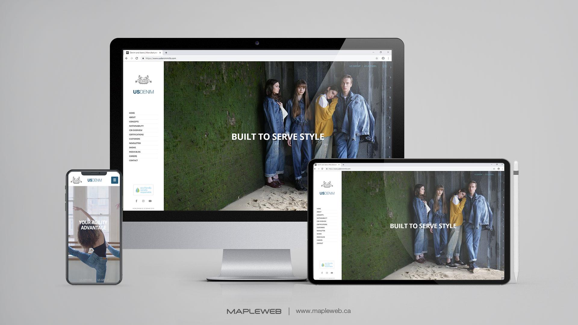 us-denim-Vancouver-web-design-Vancouver-web-development-by-mapleweb-canada-multiple-devices-display