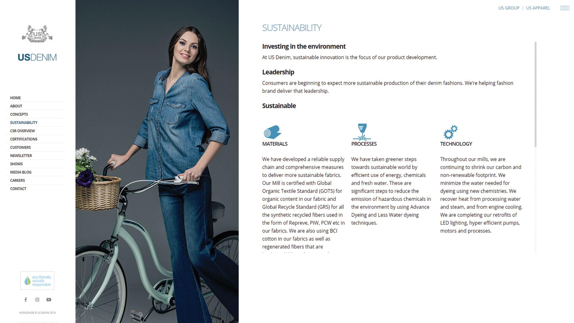 us-denim-Vancouver-web-design-Vancouver-web-development-by-mapleweb-canada-sustainability-page-design