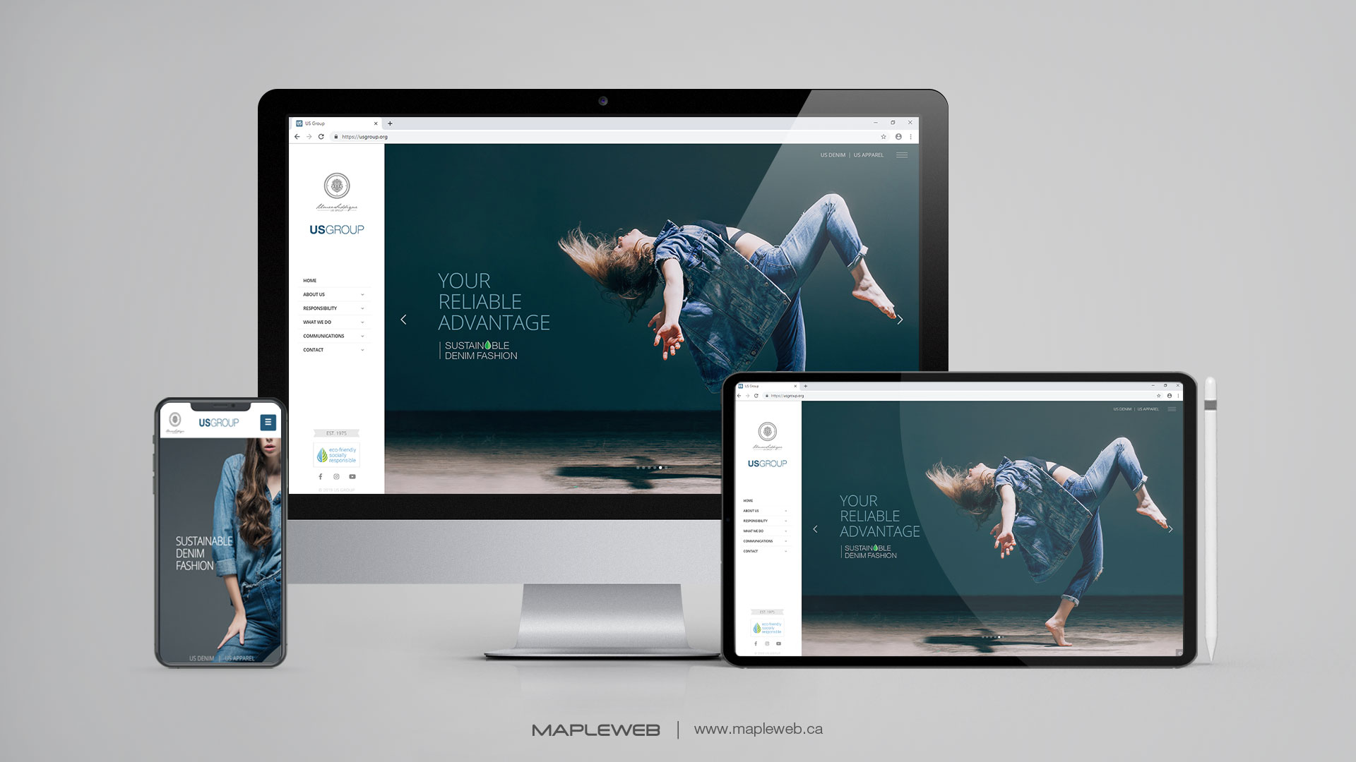 us-group-Vancouver-web-design-Vancouver-web-development-by-mapleweb-canada-multiple-devices-display