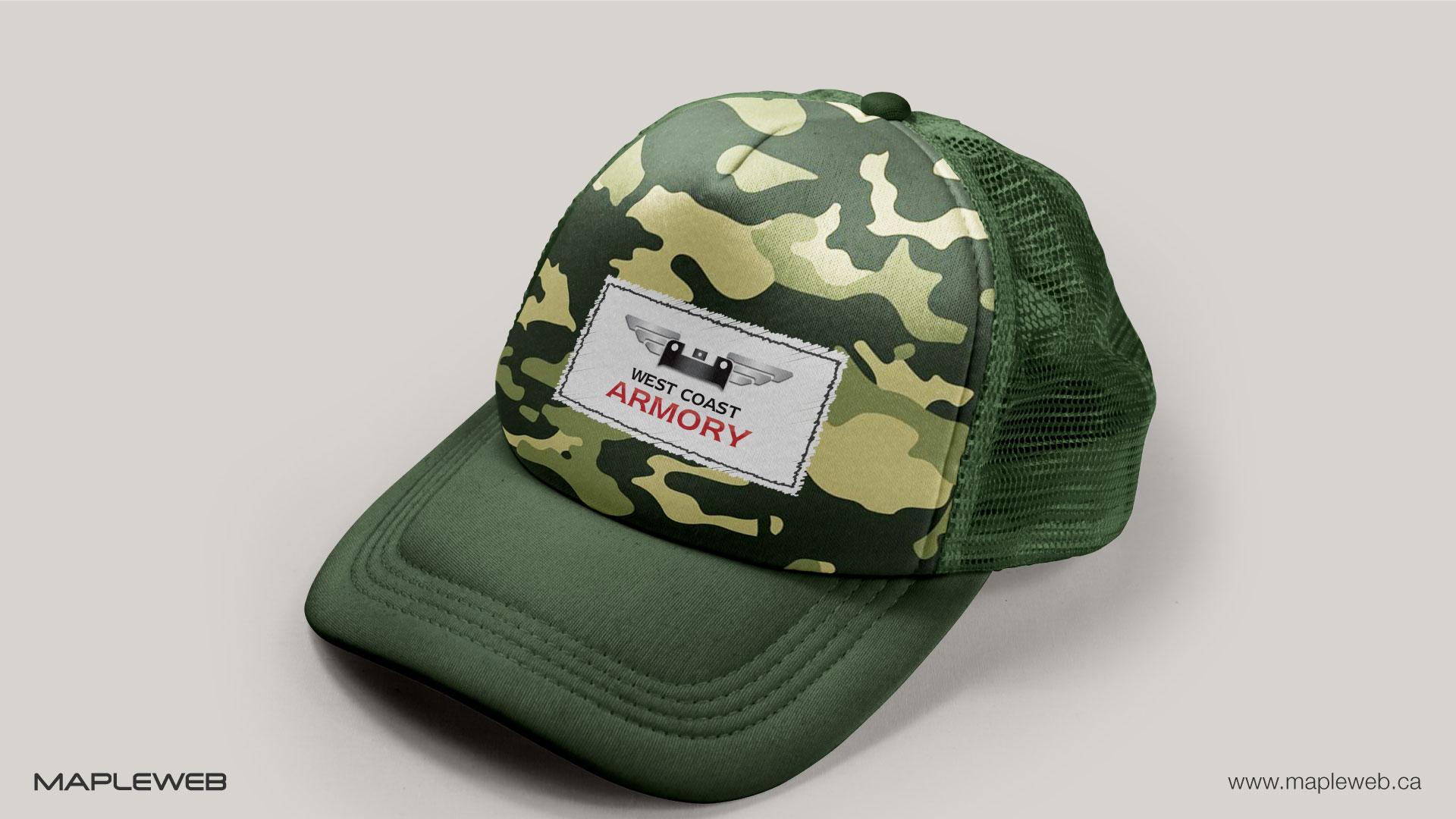 west-coast-armory-brand-logo-design-by-mapleweb-vancouver-canada-cap-mock