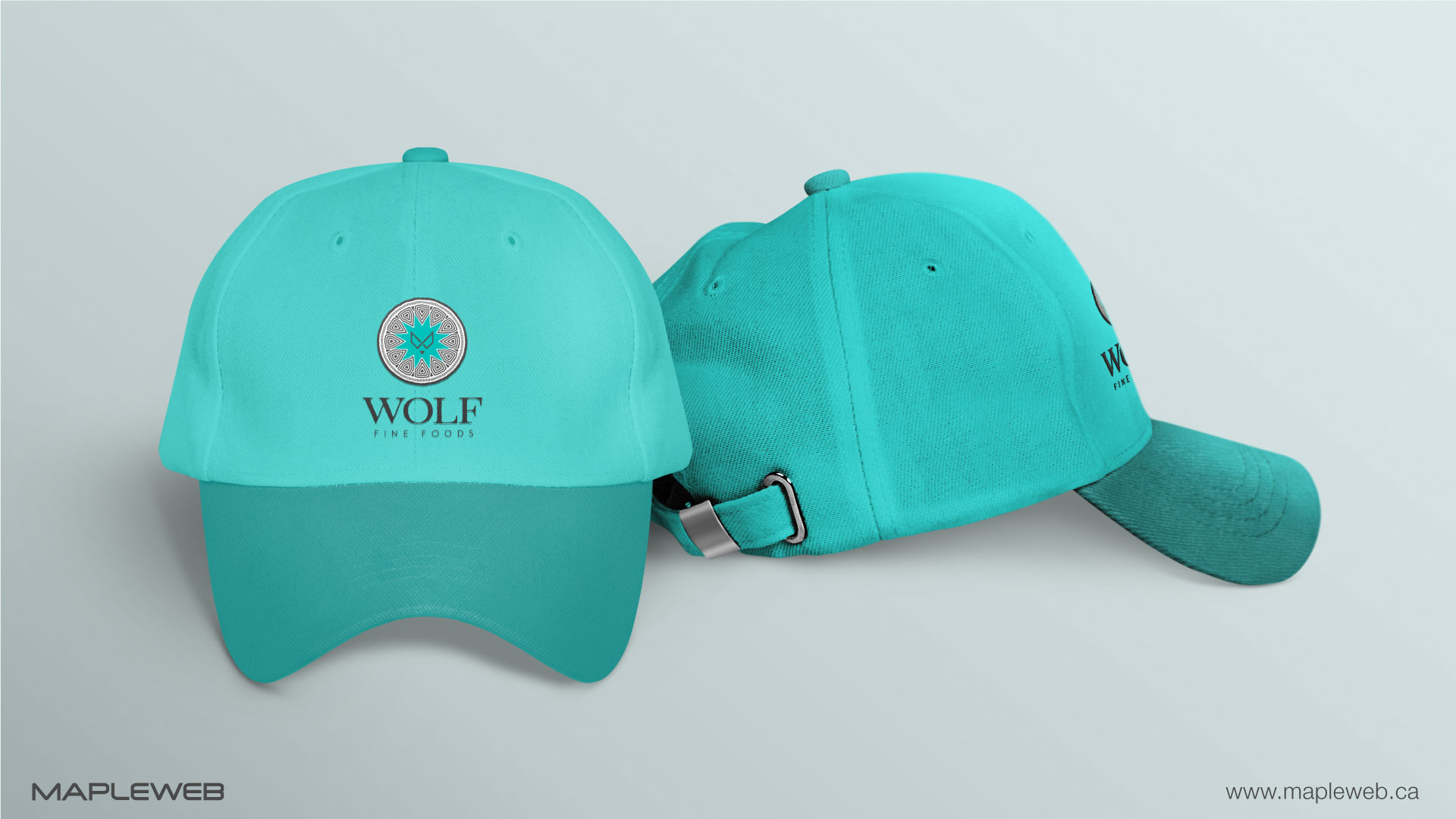 wolf-fine-foods-brand-logo-design-by-mapleweb-vancouver-canada-cap-mock